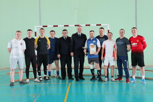 Полицейские районов Матушкино и Савёлки стали победителями турнира по мини-футболу